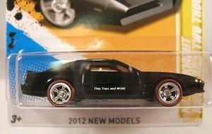 knight rider kitt knight two thoudsand pontiac trans am 1:64 2012 new models mattel hot wheels on ebay
