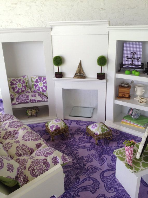 17 Best Ideas About Dining Room Living Room Furniture For 18 American Girl Doll On Pinterest