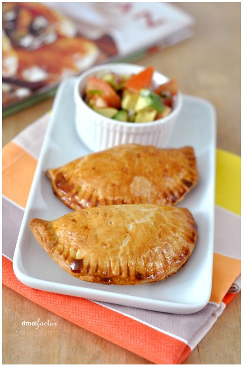 Empanadas -Reminds me of home....I order these whenever I see them.  So much work to make, but so yummy!