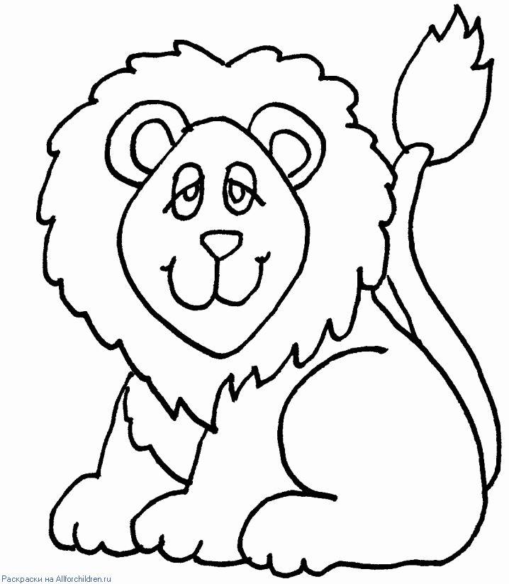 Coloring Pages For Preschoolers Printable Luxury Lion Coloring Pages Preschool And Kindergarten Lowen Malvorlagen Ausmalbilder Tiere Zeichnen