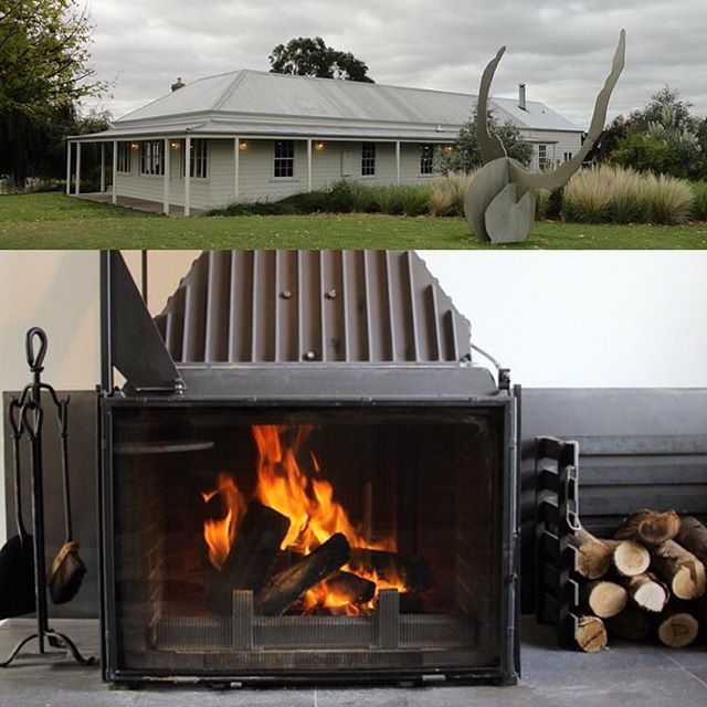 World Class! Congratulations @braerestaurant  Brae is a restaurant in Birregurra, Victoria, Australia. It was named at number 44 in The Worlds 50 Best Restaurants, 2017 Very proud to have one of our fireplaces here