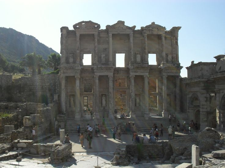 Turkey, Ephesus, The library