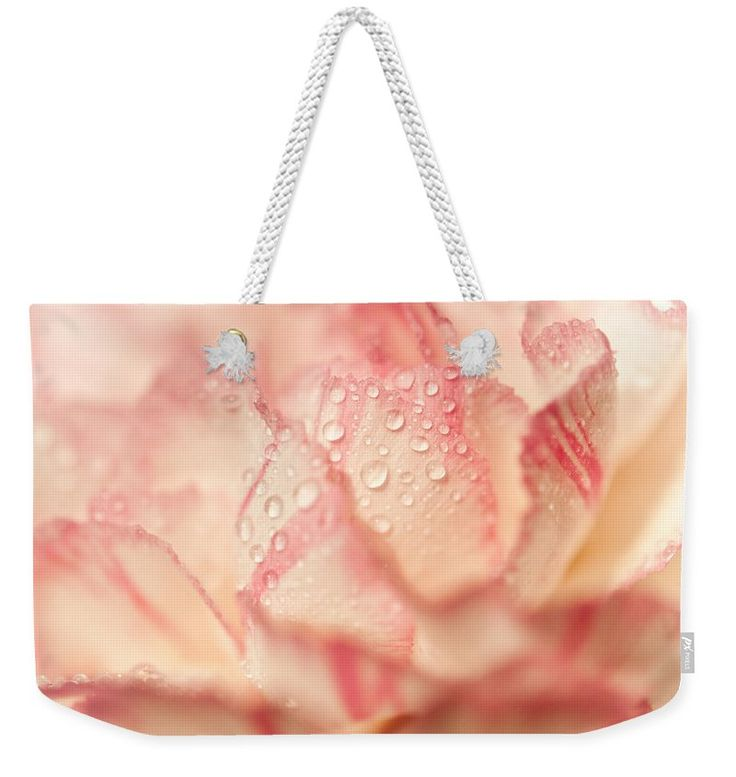 "Morning Freshness. Natural Watercolor. Touch Of Japanese Style Weekender Tote Bag (24"" x 16"") by Jenny Rainbow.  The tote bag includes cotton rope handle for easy carrying on your shoulder.  All totes are available for worldwide shipping and include a money-back guarantee."