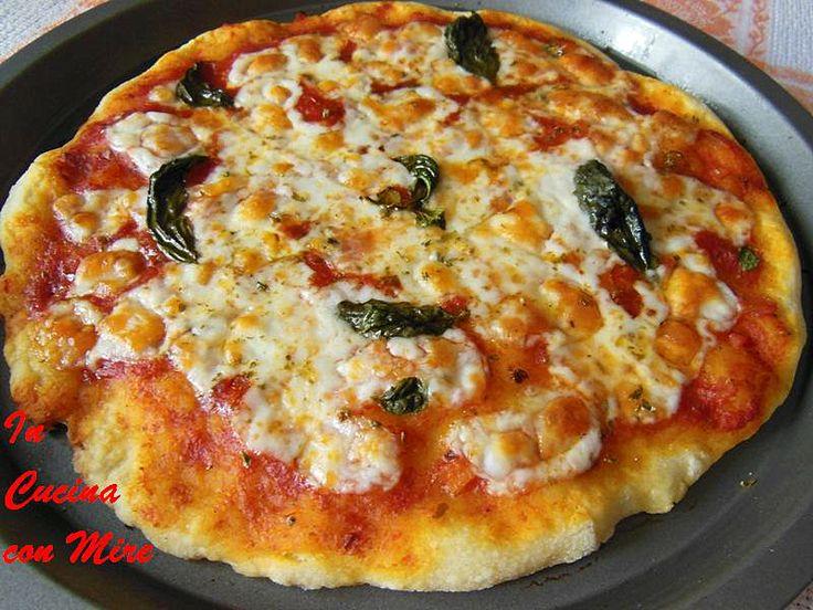 Pizza con lievito naturale - Home Made | In cucina con Mire