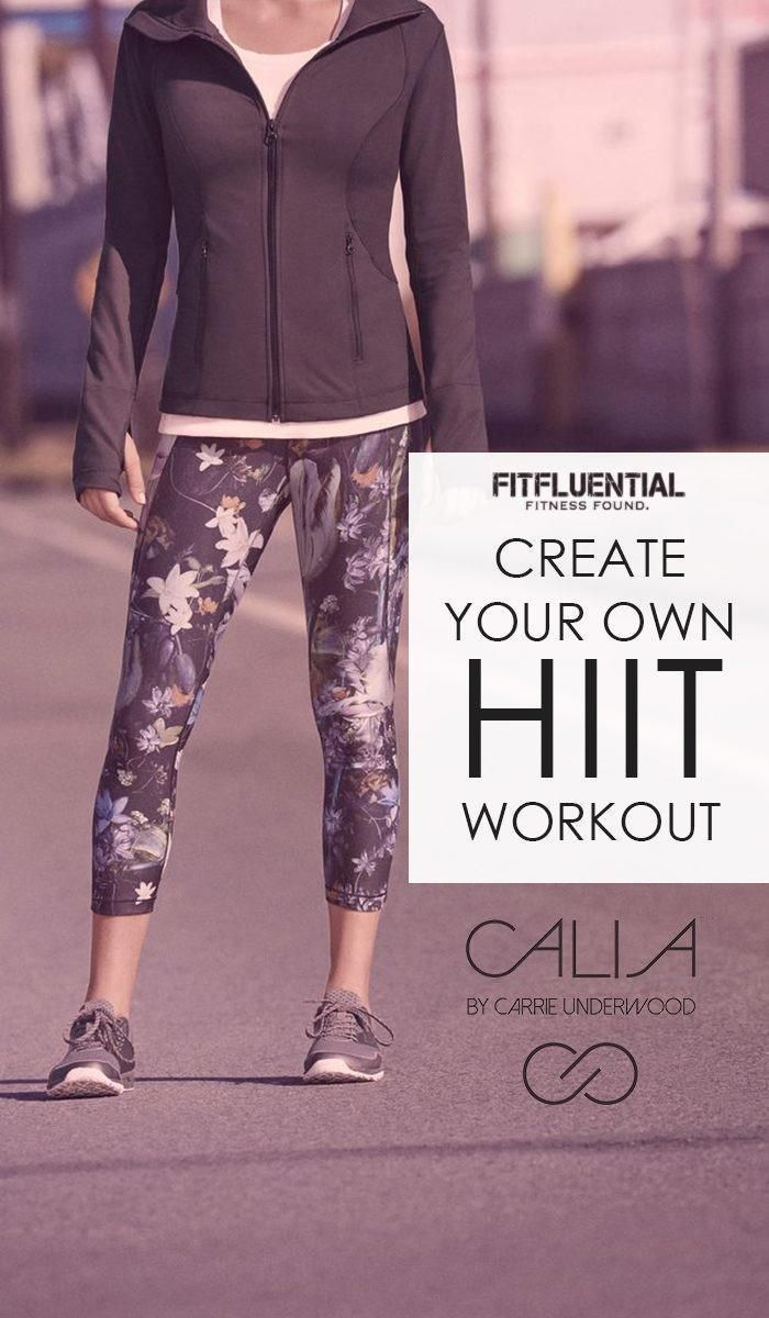 Create Your Own HIIT Workouts brought to you by our sponsor CALIA by Carrie Underwood (awesome apparel line for women) #ad #fitfluential #staythepath @fitfluential @caliabycarrie