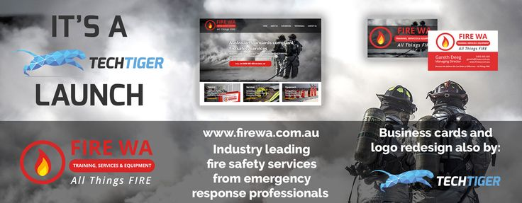 Fire Training, Services & Equipment WA provide industry leading fire safety training and emergency fire response services to Western Australian organisations of all sizes.  Gareth and the team at Fire Training, Services & Equipment WA are an absolute dream to collaborate with.  This fully responsive website features Email Marketing functionality and a LinkedIn page.  Graphic design services included the corporate identity and business card design.