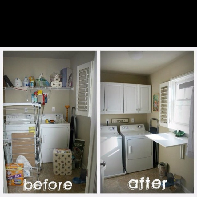 Ikea Kitchen Design Loving This Showroom Kitchen O Canada: My Before And After Laundry Room. Ikea Foldable Folding
