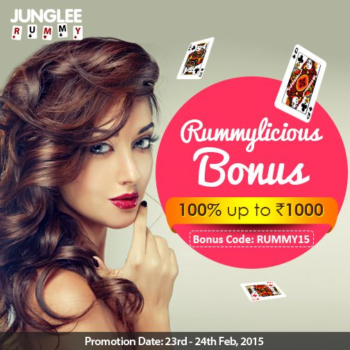 Take home your Rummylicious Bonus today! Use code RUMMY15 while making your…