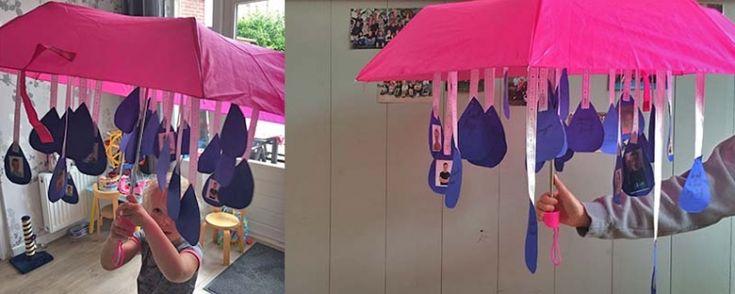 afscheidscadeau juf: een aju paraplu!!
