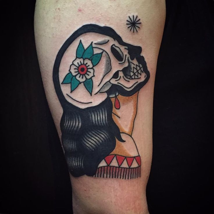 Rad Old School Tattoos By Patryk Hilton | Tattoodo.com