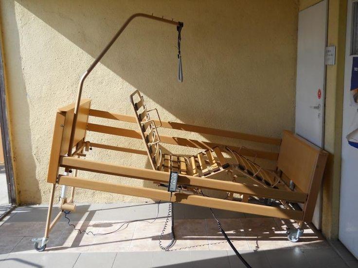 Łóżko rehabilitacyjne elektryczne 4 FUNKCYJNE F-V