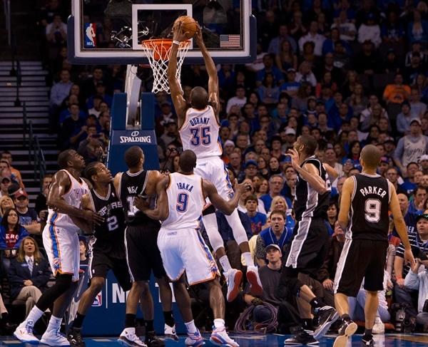 Thunder Vs Spurs April 4 2013