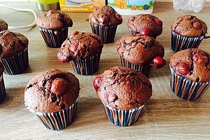 Schoko - Kirsch - Muffins, ein sehr leckeres Rezept aus der Kategorie Kuchen. Bewertungen: 237. Durchschnitt: Ø 4,5.