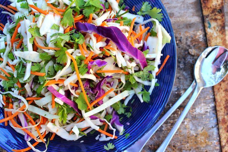 Spicy Asian Slaw Salad