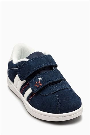 Buy Navy Stripe Trainers (Younger Girls) from the Next UK online shop