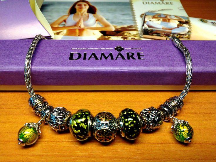 """Рубрика """"Мой первый браслет Diamare"""", чудесная фотография от нашей покупательницы Надежды. 💎"""