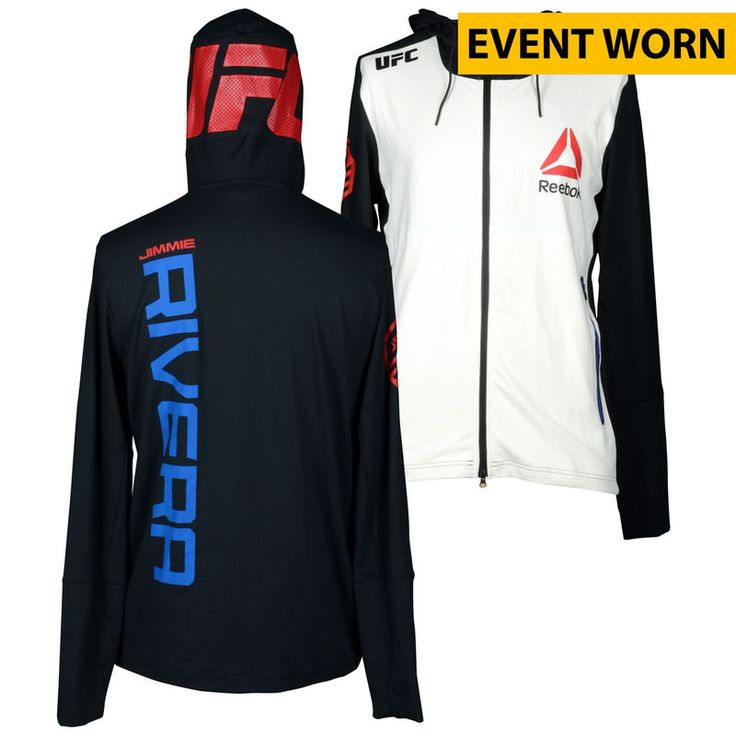 Jimmie Rivera Ultimate Fighting Championship UFC Fight Night Bisping vs. Leites Event-Worn Walkout Hoodie - Defeated Marcus Brimage via First Round Knockout