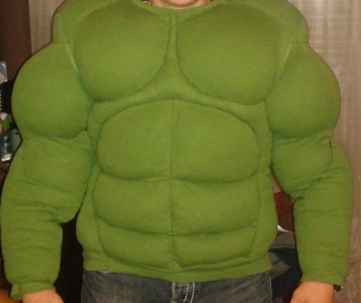 hulk costume diy by Mama kreatywnie