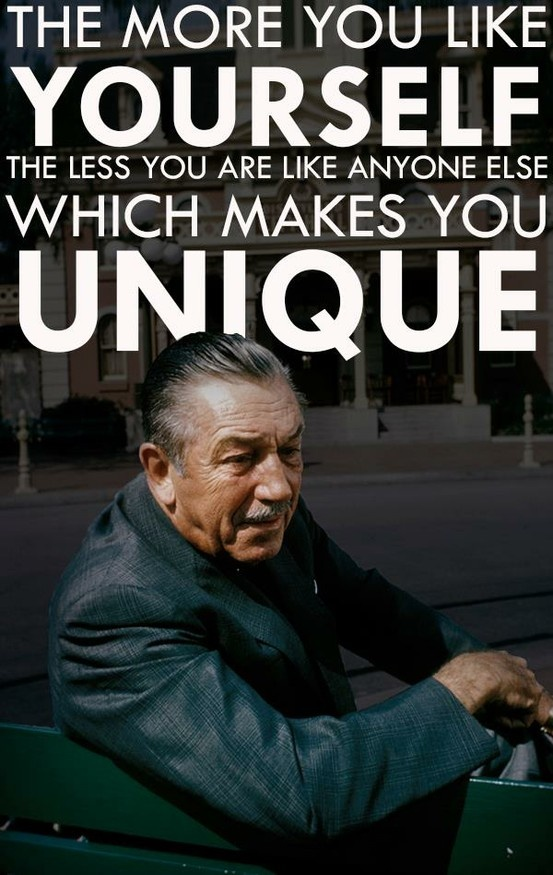 One of my favorite quotes by Walt.