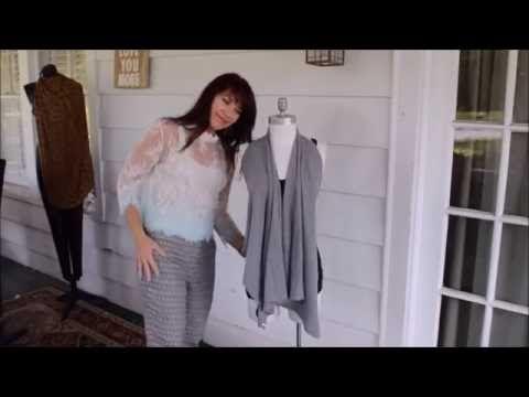 Стильный жилет из старой футболки всего за 5 минут - YouTube