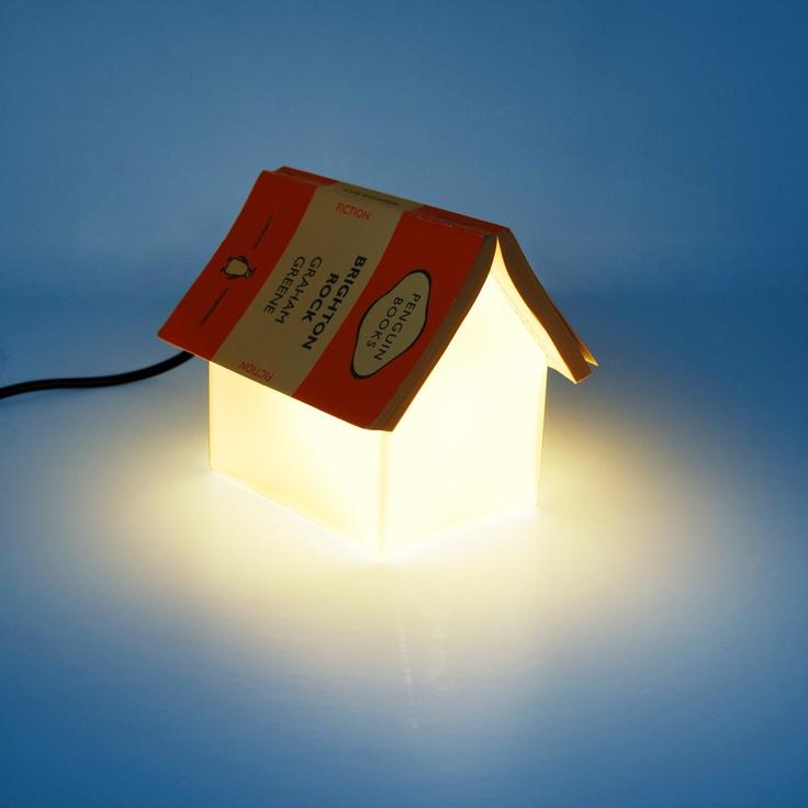Book Rest Lamp USA: Night Lights, Books Rest, Bookrest Lamps, Night Stands, Houses Lamps, Books Lamps, Lights Houses, Glasses Houses, Books Stands