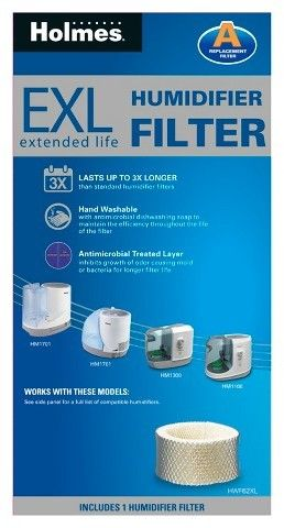 Holmes Replacement Humidifier Filter (2 Pack) - HWF62