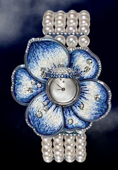SICIS Nano-Mosaic Sapphire Glass Watches | Floreal Collection