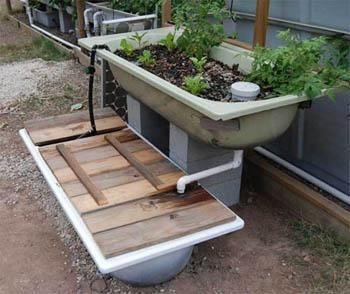 Bath Tub Component kit aquaponics.ashop.me