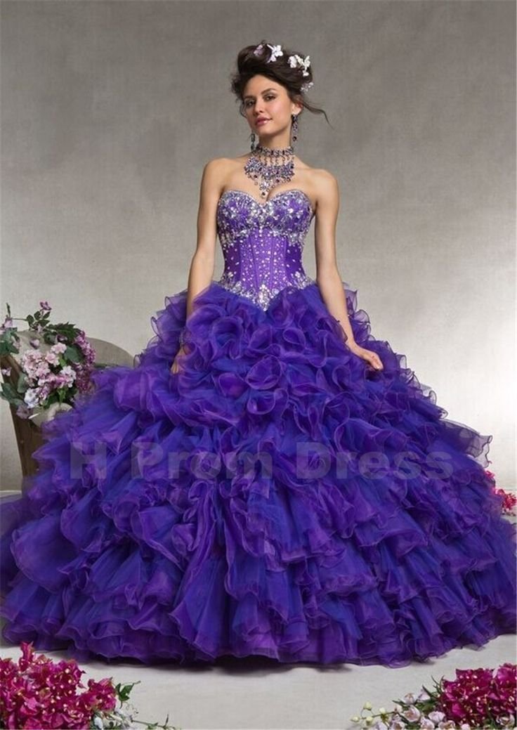Mejores 10 imágenes de Quinceanera Dresses en Pinterest | Vestidos ...
