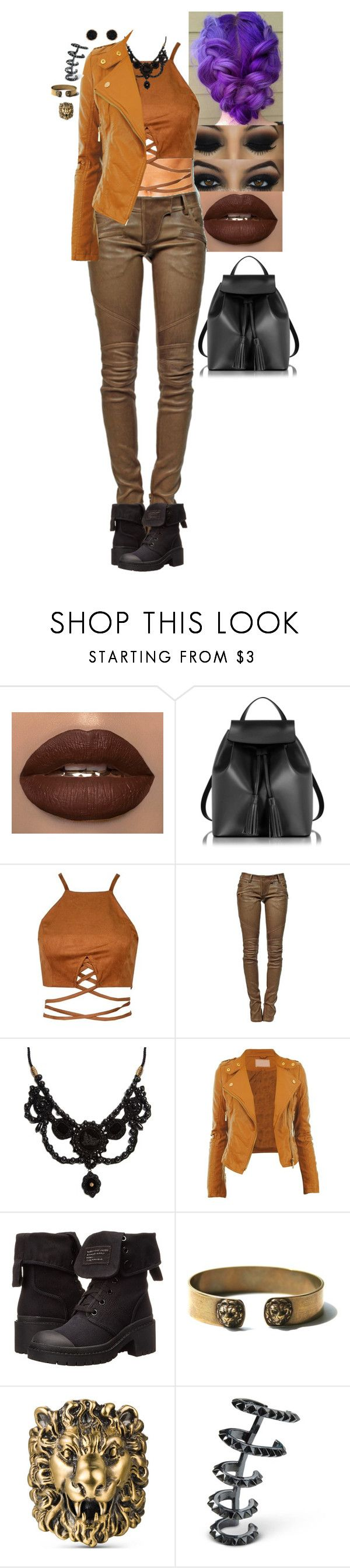 """False King - Cocktails by Cody"" by stinze on Polyvore featuring Le Parmentier, Balmain, Gucci, Marc by Marc Jacobs, Kasun and Humble Chic"