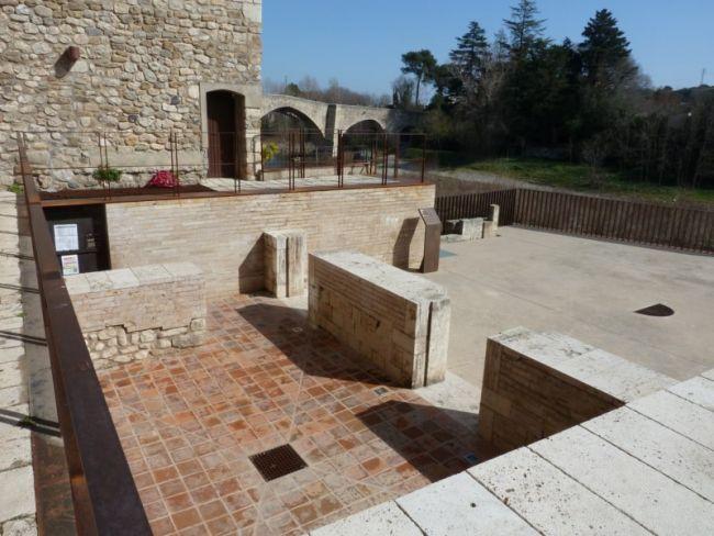 La sinagoga de Besalú. Foto: Margarida Genera i Monells.
