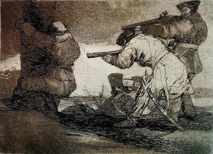 Ross Smirnoff Art: Goya's Disasters of War