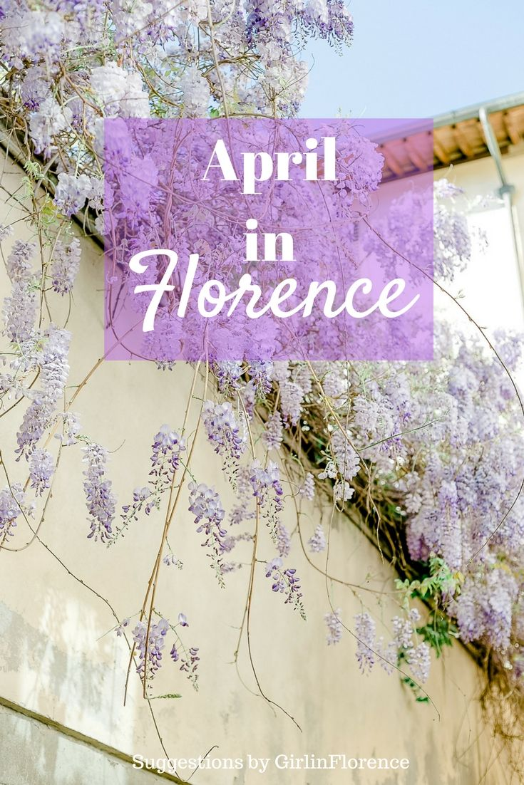 Enjoying the Best of April in Florence. My Personal Suggestions – Girl in Florence