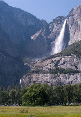 Visit Yosemite during the late Spring or early Summer