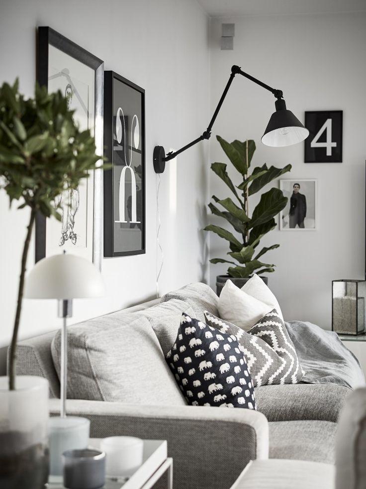 Lampa på vägg