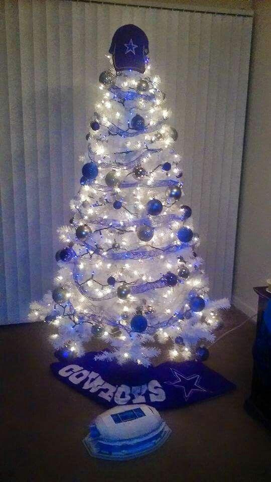 Dallas Cowboys Christmas tree.
