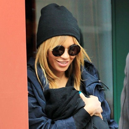 Beyonce Knowles com Blue Ivy