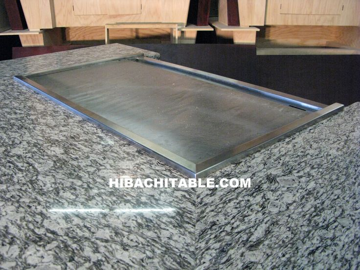 hibachi grills for the home | Hibachi Table « Hibachi Table | Teppanyaki Table | Teppan Table ...