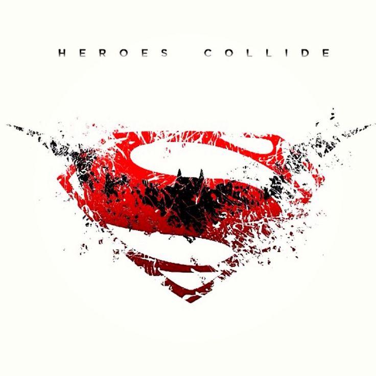 Batman Vs Superman logo art by Jun Em