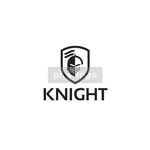 Knight Security shield Logo