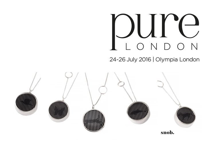 Discover the new snob. collections in London on the 24-26 july #snob #snobdot