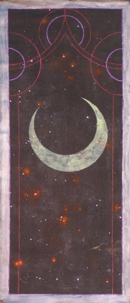 The moon and stars.