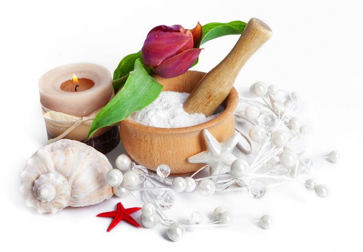Тюльпаны Ракушки Свечи Морские звезды Крупным планом Спа Цветы
