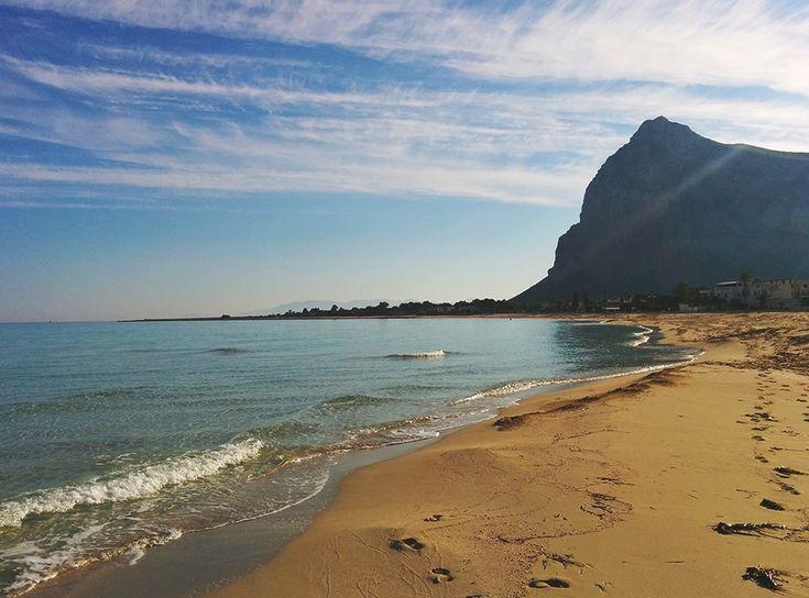 Chiara Magi - Sicilian Vibes - San Vito Lo Capo beach in December