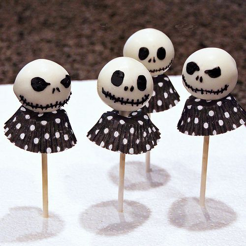 Jack Skellington Cake Pops | Flickr - Photo Sharing!
