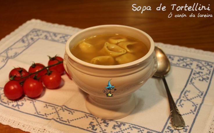 ó carón da Lareira: Sopa de Tortellini