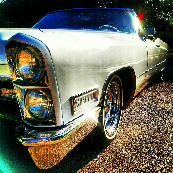 """1968 Cadillac DeVille Convertible - """"Low Rider"""""""