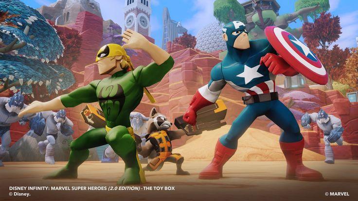 DISNEY INFINITY MARVEL SUPER HEROES (2.0) Review - Huge Leap Forward, Infinite Possibilities   Newsarama.com