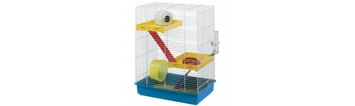 Jaulas para roedores al mejor precio en la tienda de mascotas online Wakuplanet.com