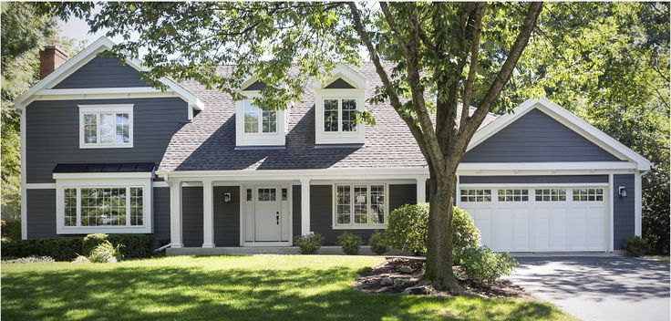 Iron Gray...maybe add natural, cedar shakes and use white trim?  James Hardie - Design Ideas   Color Dashboard